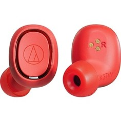 Наушники Audio-Technica ATH-CK3TW red