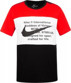 Футболка мужская Nike Swoosh, размер 50-52