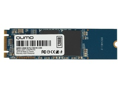 Жесткий диск Qumo Novation TLC 3D SSD 120Gb Q3DT-120GPPN-M2