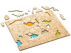 Пазл Wood Machine Динозавры 11497.02