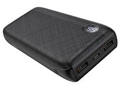 Внешний аккумулятор Hoco Power Bank J53A Exceptional Mobile 20000mAh Black 115165