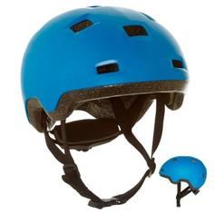 Детский Шлем Для Катания На Роликах, Скейтборде, Самокате B100, Синий Oxelo