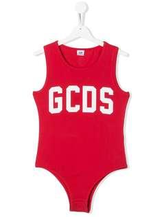 Gcds Kids боди без рукавов с логотипом