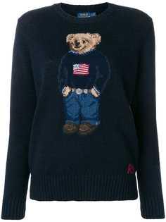 Polo Ralph Lauren свитер-поло с принтом