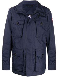Canada Goose куртка с капюшоном и накладными карманами