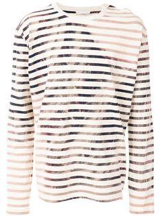 Faith Connexion футболка с драпировкой и длинными рукавами