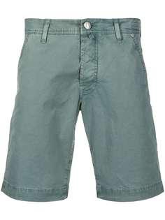 Jacob Cohen твиловые шорты-бермуды
