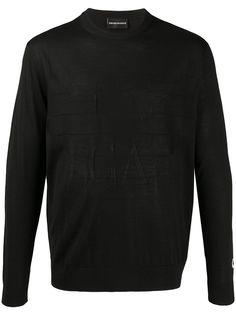 Emporio Armani пуловер с логотипом