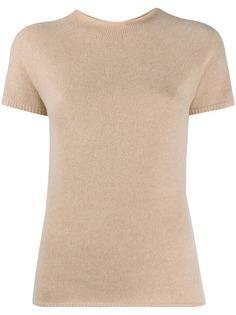 Max Mara трикотажная футболка с круглым вырезом
