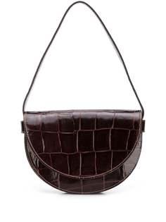 Staud сумка на плечо Amal с тиснением под кожу крокодила