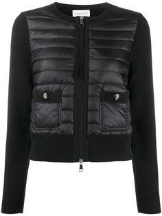 Moncler куртка-пуховик на молнии