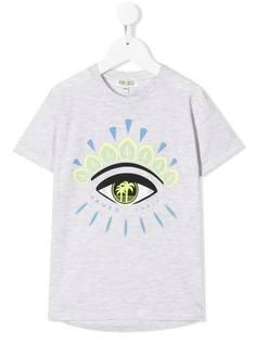 Kenzo Kids футболка с принтом Jerome