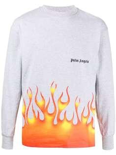 Palm Angels футболка Firestarter с принтом