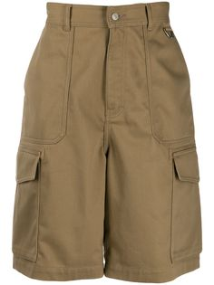 Ami Paris шорты-бермуды с накладными карманами