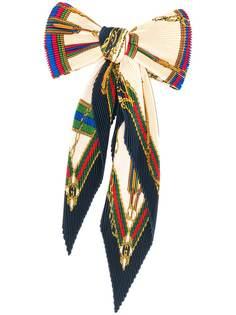 Gucci плиссированный галстук-бабочка