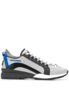 Dsquared2 кроссовки со вставками