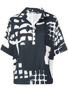 Natori футболка с принтом