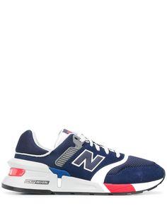 New Balance кроссовки с нашивкой-логотипом