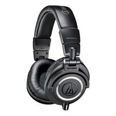 Наушники AUDIO-TECHNICA ATH-M50XBT, 3.5 мм/Bluetooth, накладные, черный [80000077]