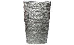 Кашпо напольное серебряное (garda decor) серебристый 40x60x40 см.