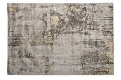 Ковер ascona 1,6х2,3м вискоза 100% (garda decor) серый 160x1x230 см.