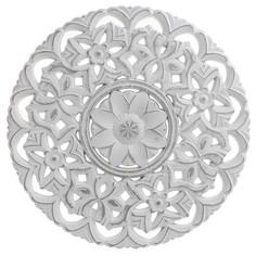 Декор настенный viola (to4rooms) белый 2 см.