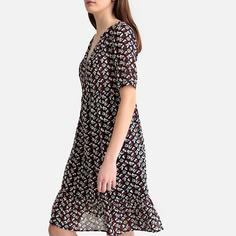Платье короткое с рисунком SEE U Soon