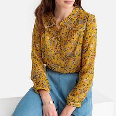 Блузка с цветочным рисунком SEE U Soon