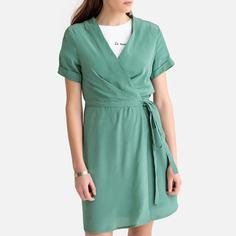 Платье с запахом с короткими рукавами SEE U Soon