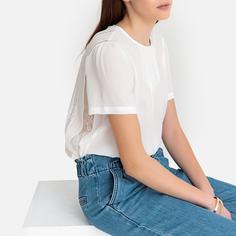 Блузка с круглым вырезом и короткими рукавами SEE U Soon