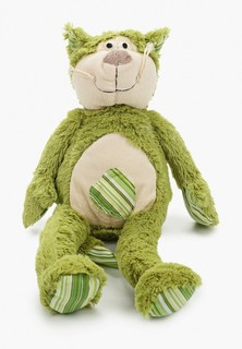Игрушка мягкая Magic Bear Toys Зеленый кот 20 см.