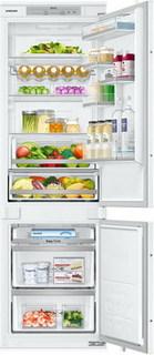 Встраиваемый двухкамерный холодильник Samsung
