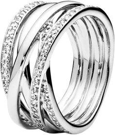Серебряные кольца Кольца PANDORA 190919CZ