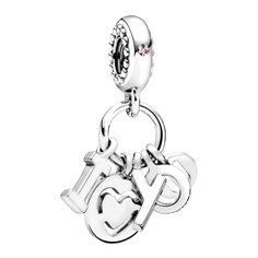 Серебряные кулоны, подвески, медальоны Кулоны, подвески, медальоны PANDORA 796596FPC
