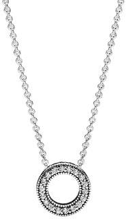 Серебряные колье Колье PANDORA 397436CZ