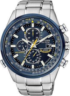 Японские мужские часы в коллекции Radio-Controlled Мужские часы Citizen AT8020-54L