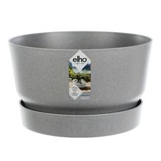 Кашпо Elho greenville bowl д33см серое