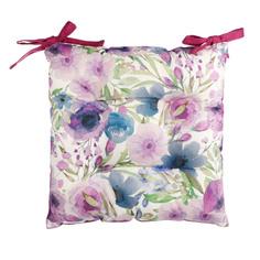 Подушка для стула Morbiflex casa flower violet 40x40