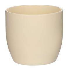 Кашпо Soendgen basel d14 глянцевый ваниль