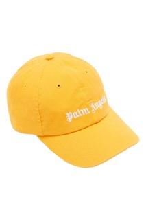 Яркая бейсболка с логотипами Palm Angels