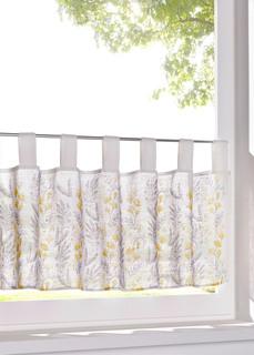 Короткие шторы Занавеска кухонная с цветочным принтом Bonprix