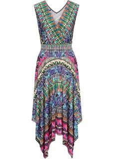 Длинные платья Трикотажное платье Bonprix