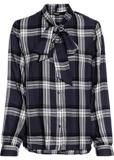 Блузки с длинным рукавом Блузка с бантом Bonprix