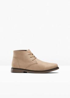 Мокасины и слиперы Ботинки на шнуровке Bonprix