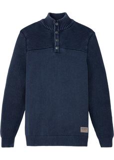 Мужские пуловеры Пуловер с воротником-стойкой Bonprix