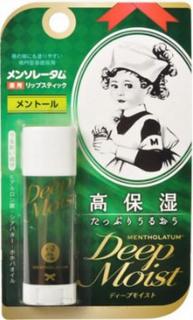 Mentholatum, Натуральный бальзам для губ в стике Lip Stick Natural, 4,5 гр