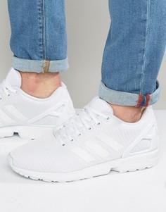 Белые кроссовки adidas Originals ZX Flux S32277-Белый