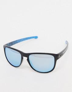 Солнцезащитные очки в квадратной оправе Oakley-Черный
