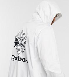 Ветровка с логотипом Reebok classics-Белый
