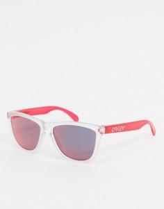 Солнцезащитные очки в стиле ретро Oakley-Красный